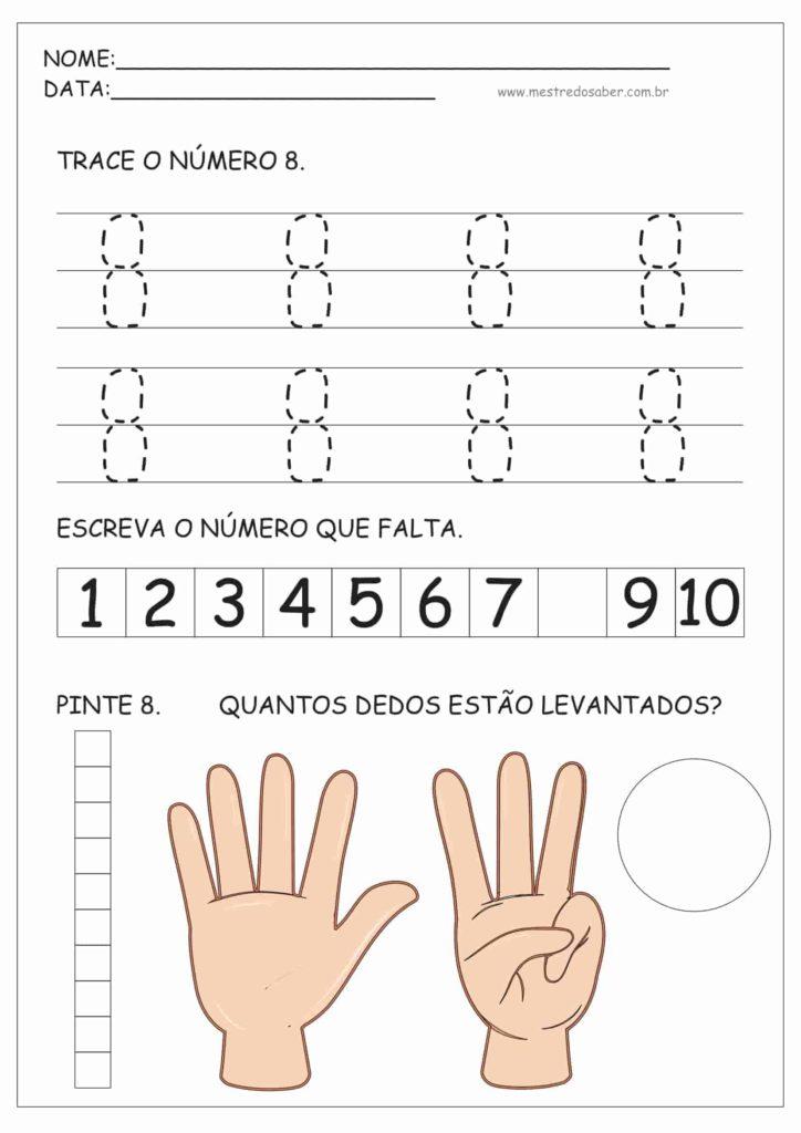 8 - Atividades de Educação Infantil e Números