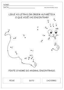 8 - Atividades de Português 1 ano