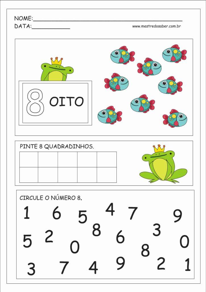 8 - Atividades Educação Infantil Números e Quantidades