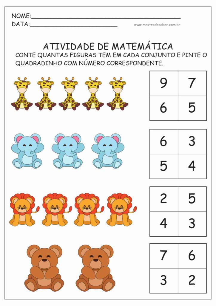 9 - Atividades de Matemática Educação Infantil