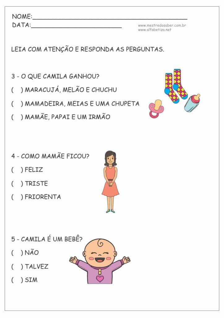 9 - Atividades de Português 2º ano Fundamental