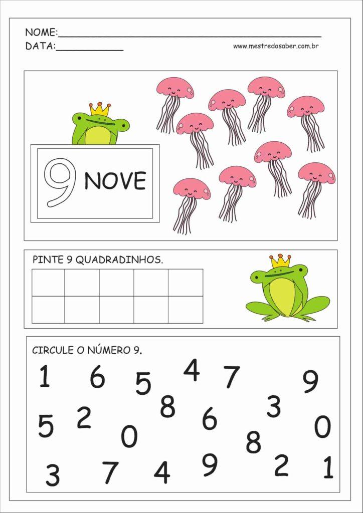 9 - Atividades Educação Infantil Números e Quantidades