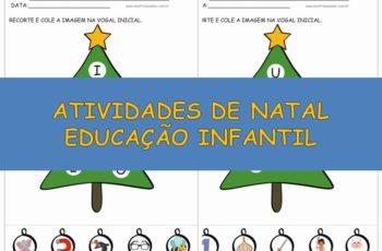 Atividades de Natal Educação Infantil