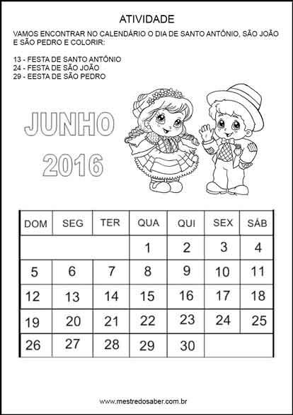 Atividades Festa Junina Educacao Infantil Mestre Do Saber