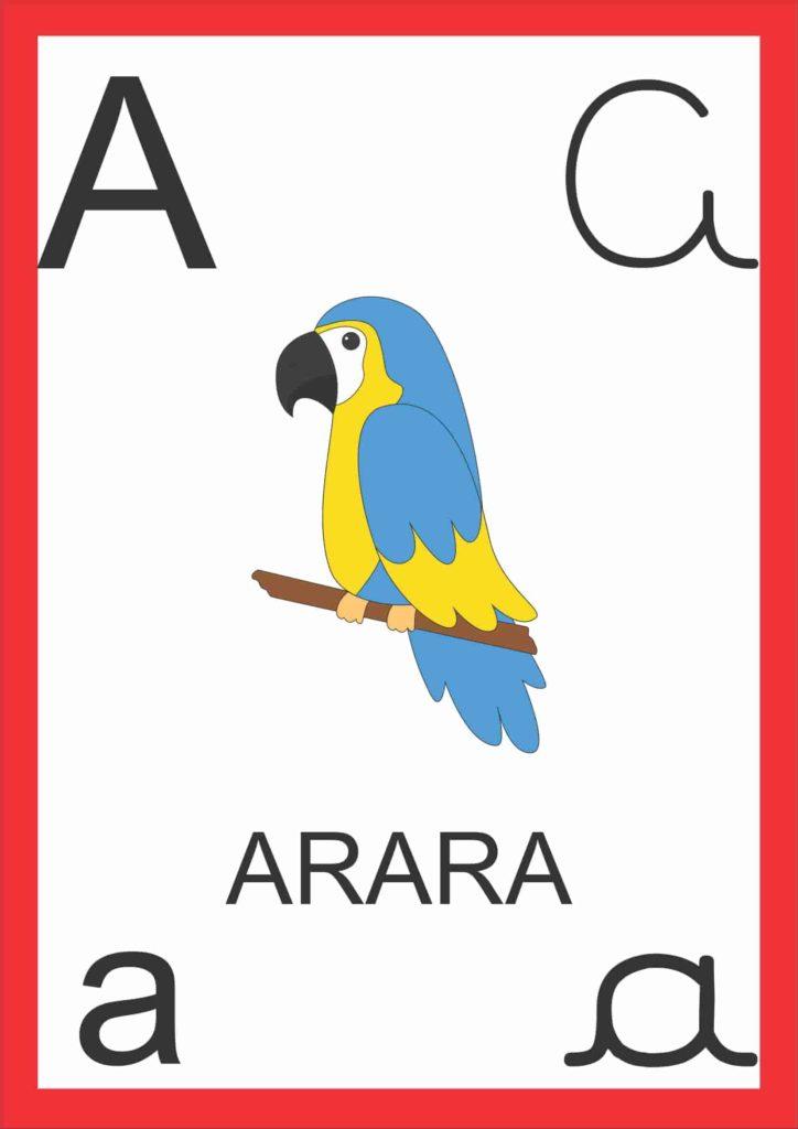 Alfabeto de Parede - Letra A