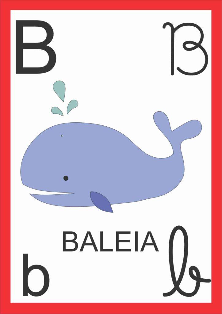 Alfabeto de Parede - Letra B