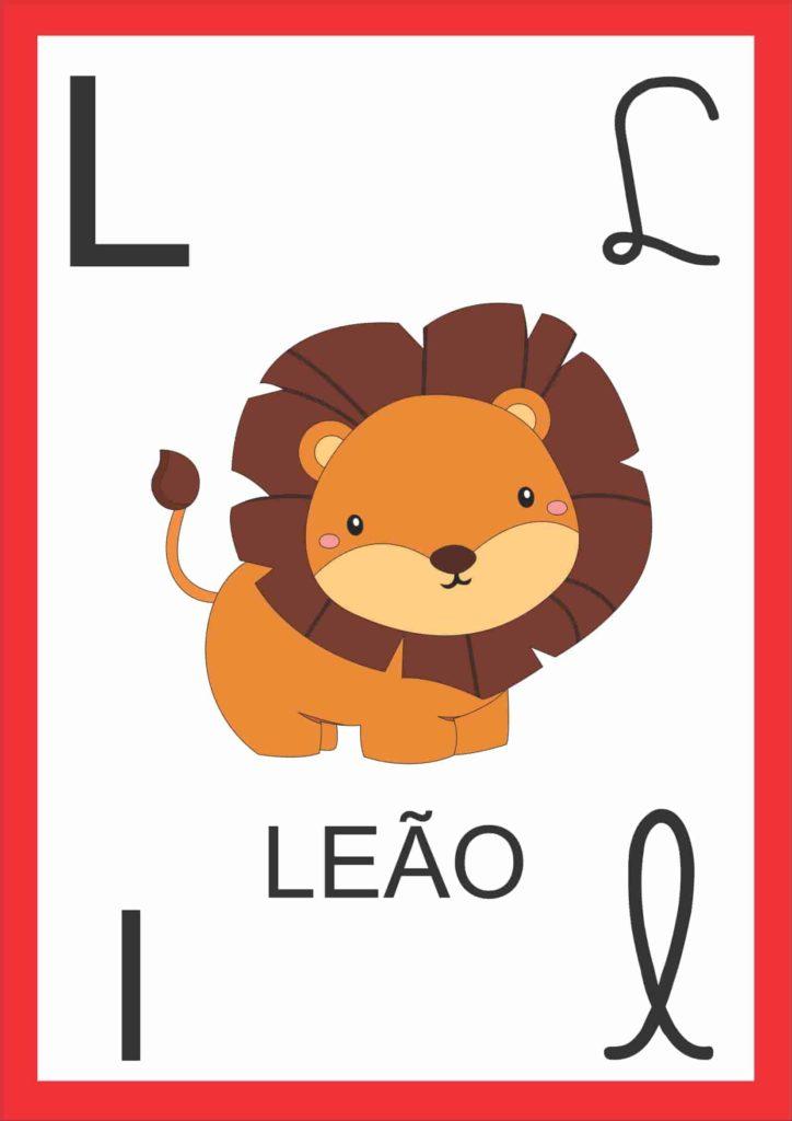 Alfabeto de Parede - Letra L