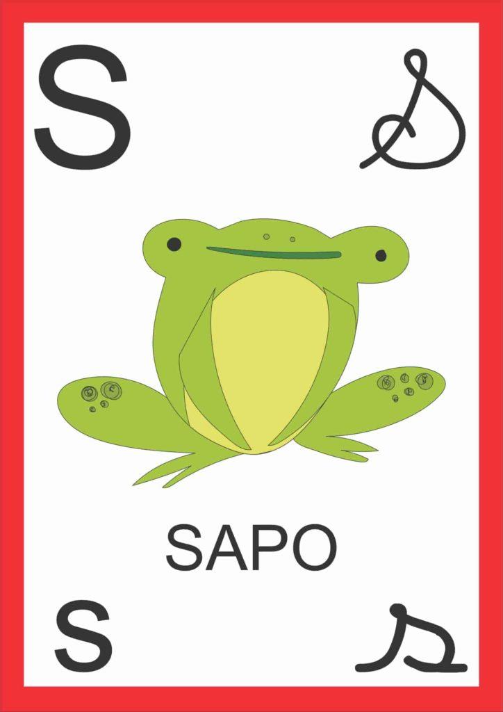 Alfabeto de Parede - Letra S