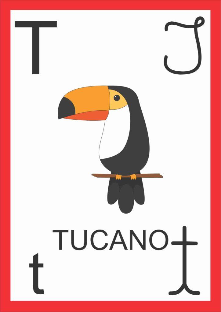 Alfabeto de Parede - Letra T