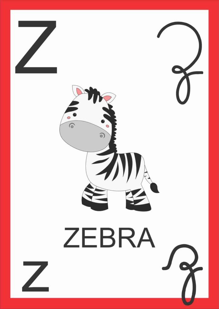 Alfabeto de Parede - Letra Z