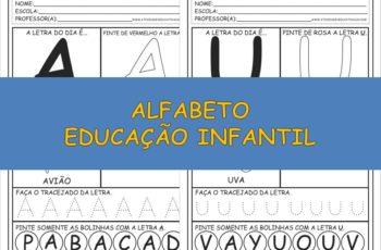Alfabeto Educação Infantil – Promoção