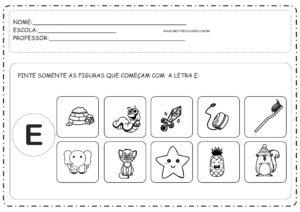 2 - Atividades com Vogais Educação Infantil