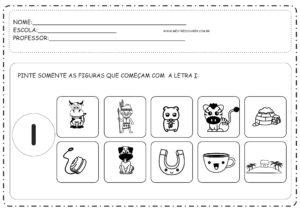 3 - Atividades com Vogais Educação Infantil