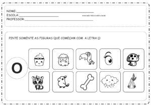 4 - Atividades com Vogais Educação Infantil