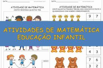 Atividades de Matemática Educação Infantil