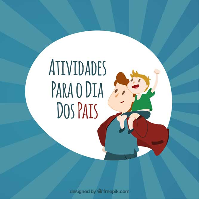 Atividades para o dia dos pais - Capa destaque