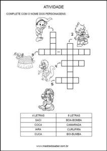 atividades-sobre-folclore24 - Cruzadinha