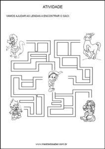 atividades-sobre-folclore25 - Labirinto