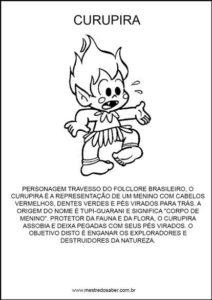 atividades-sobre-folclore27 - Lenda do curupira