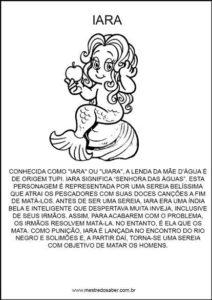 atividades-sobre-folclore32 - Lenda da Iara