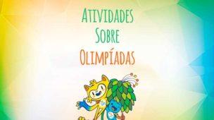 Capa destaque das atividades sobre olimpíadas