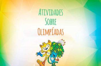 Atividades sobre Olimpíadas Rio 2016 para 1º ano