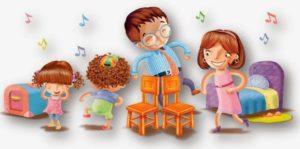 Brincadeiras folclóricas - Dança da cadeira