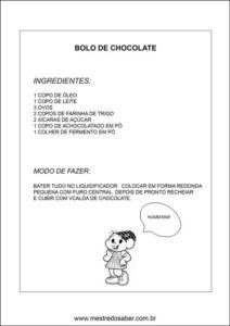 Caderno de receitas para o dia das mães - Receita 1