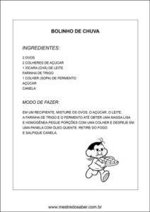 Caderno de receitas para o dia das mães - Receita 4