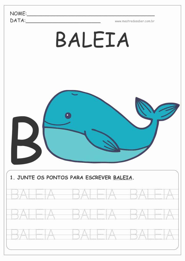 1 - Cartilha de Alfabetização Letra Bastão para Imprimir
