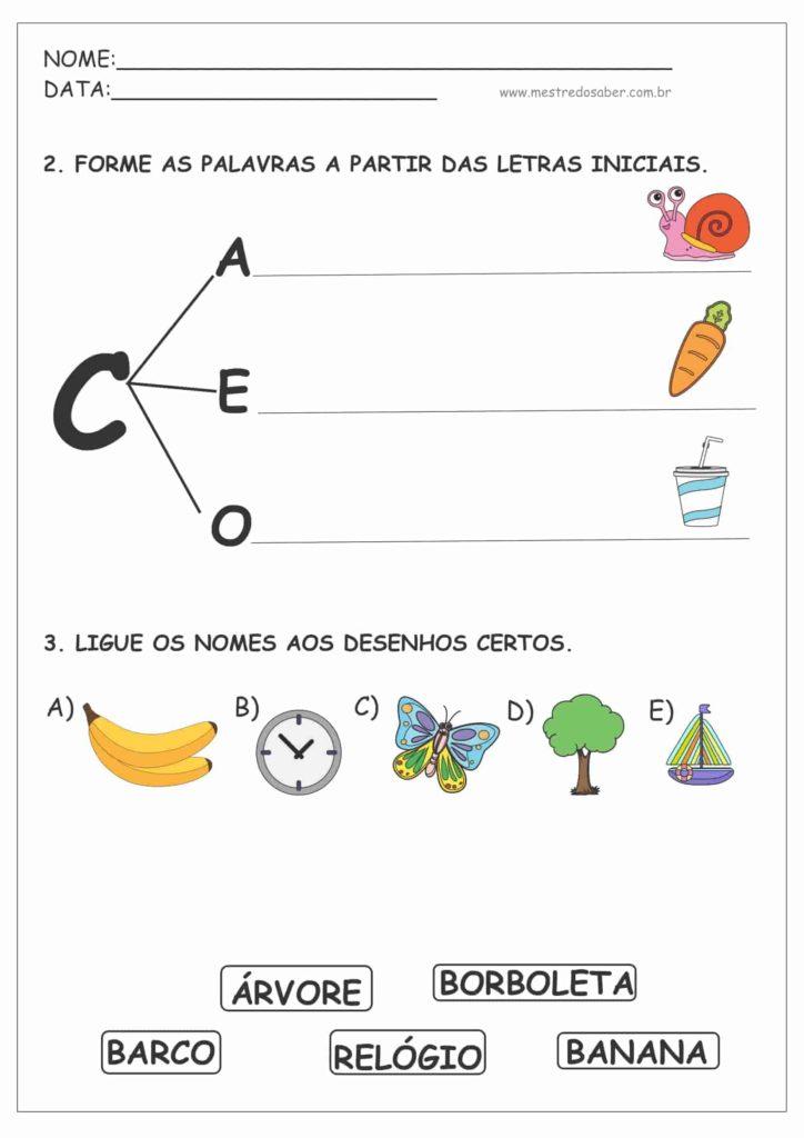 2 - Cartilha de Alfabetização para Imprimir