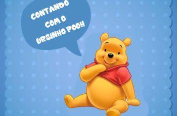 Atividades contando com o ursinho pooh Educação infantil
