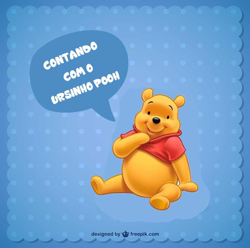 Atividades contando com o ursinho pooh - Destaque