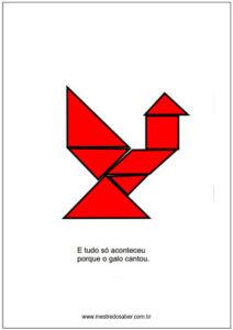 desenho com tangram