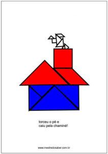 História com tangram