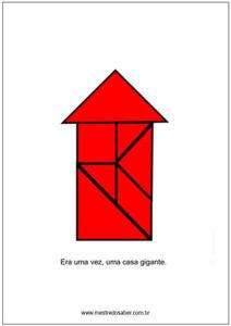 desenhos com tangram