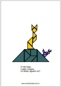 tangram animais