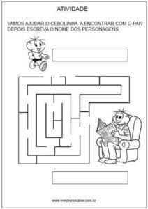 Labirinto chegue até o Papai
