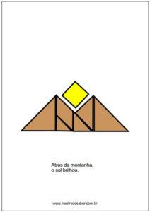 desenhos tangram