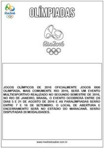 Olímpiadas Informações