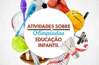 Atividades de Olimpíadas para Educação Infantil