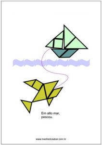 atividades de tangram