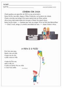 8 - Pequenos Textos para Leitura