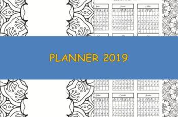 Planner Download 2019 completo e grátis