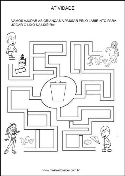 Projeto Meio Ambiente Educacao Infantil Mestre Do Saber