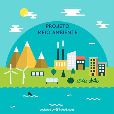 Projeto meio ambiente Educação infantil - Destaque
