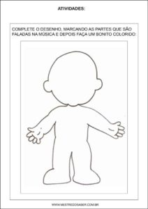 Sequência Didática esquema corporal na educação infantil - A cara redonda que hoje eu fiz
