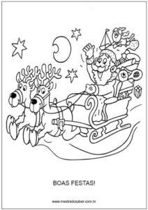 Vamos colorir Natal