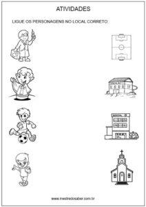 Sugestão de atividades e mensagem de volta às aulas - ligue-corretamente